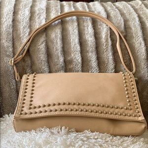 Handbags - NWOT Leather cream bag